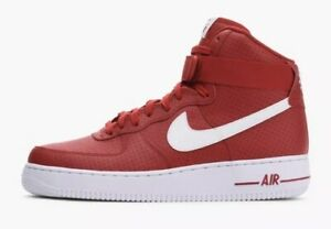 Size Nike High About 1 '07 315121 Force Air Gym Shoes Red 606 5 Details Men's White 9 Ajq54R3L