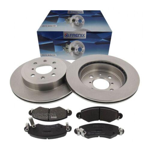 Bremsen Satz Set Kit vorne Ø 253 mm System Bosch mit ABS für Opel Agila A Suzuki