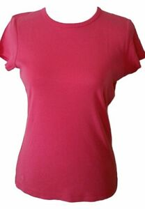 Lilly-Pulitzer-T-Shirt-Size-Medium-Short-Sleeve-Top-100-Cotton-Pink-Womens