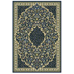 teppich orientalisch klassisch wohnzimmer 200 x 300 230 x 340 300 x 400 blau a ebay. Black Bedroom Furniture Sets. Home Design Ideas