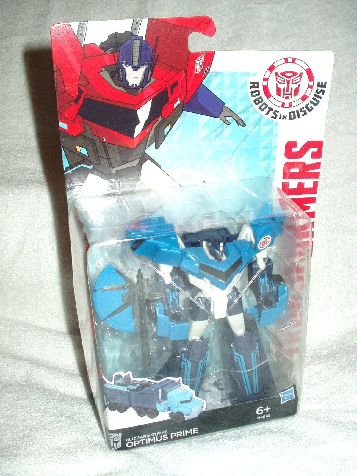 Transformers Action Figure Figure Figure Deluxe RID Blizzard Strike Optimus Prime 6 inch 26d981