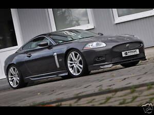 Jaguar Xk Xkr 2007 2012 Full Body Kit Front Lip Sides