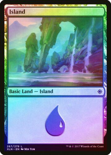 FOIL Ixalan NM Basic Land MAGIC THE GATHERING MTG CARD ABUGames 267 Island