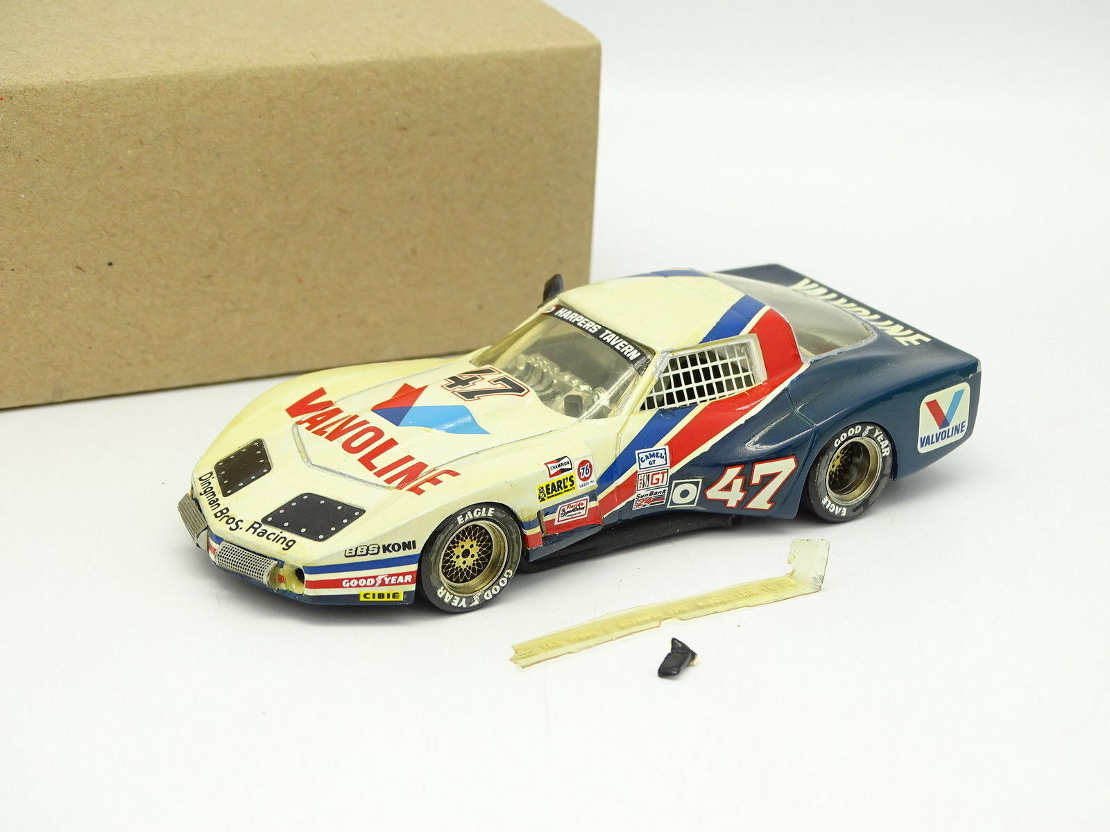 AMR Kit Monté SB 1 43 43 43 - Chevrolet Corvette Daytona 1984 N°47 Valvoline  Mejor precio