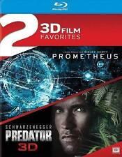 2 3D Film Favorites: Prometheus / Predator (3D Blu-ray)