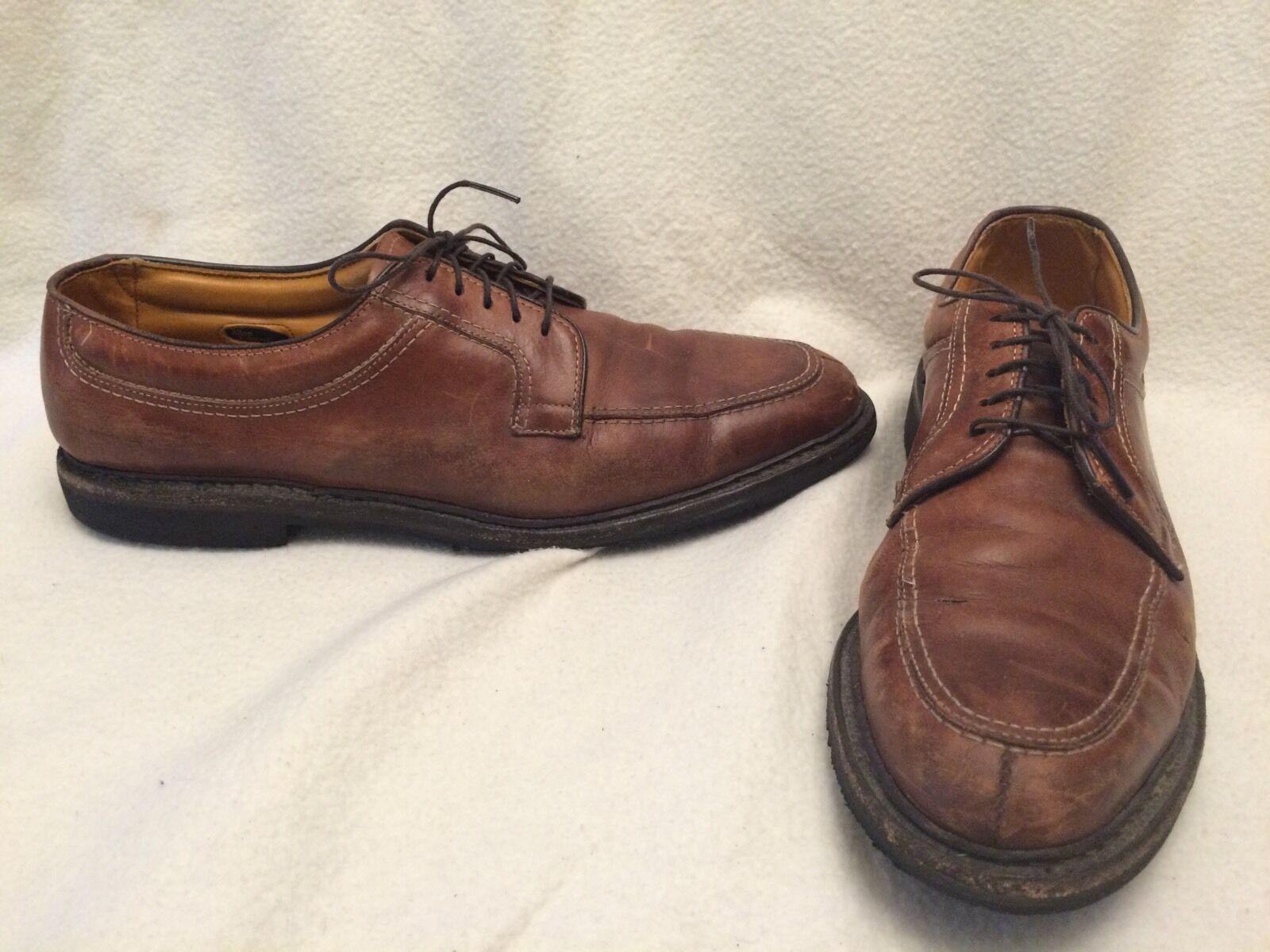 Allen Edmonds Wilbert 1951 braun Outland Leather Oxford Dress schuhe Mens 14 A