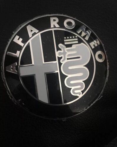 Alfa Romeo Noir /& Blanc emblème badge 147 156 159 BRERA MITO GIULIETTA frontorback