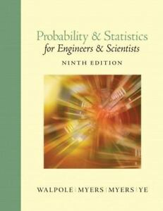 Probability and statistics for engineers and scientists by ronald e stock photo fandeluxe Gallery
