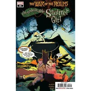 Unbeatable-Squirrel-Girl-45-War-of-Realms-Tie-In-Marvel-Comic-1st-Print-2019-NM