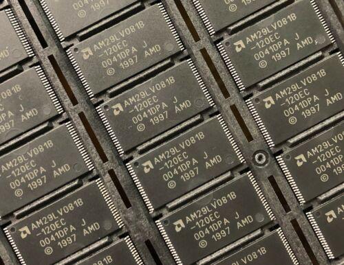 120ns PDSO40 **NEW** Qty.4 1MX8 AMD AM29LV081B-120EC Flash Memory
