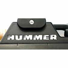 2003-2010 GMC HUMMER H2 Roof Rack Vinyl Letters Chrome Inserts Stickers Trim Kit
