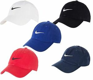 Image is loading Nike-New-Swoosh-Heritage-Adjustable-Youth-Baseball-Hat- a9017eb9d2a