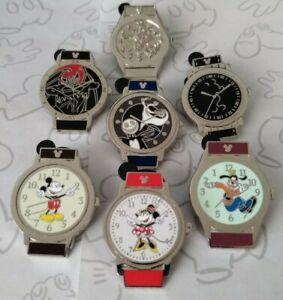 Wrist-Watch-Watches-2019-Hidden-Mickey-Set-DLR-Wave-B-Choose-a-Disney-Pin