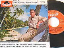 """7"""" EP - Freddy und das Lied der Südsee - 6 Track - 1962 # 4505"""