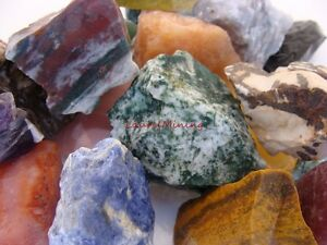 Natural-TUMBLE-ROUGH-1000-CARAT-Lots-Colorful-Mix-of-Rock-and-Gemstone-Rough