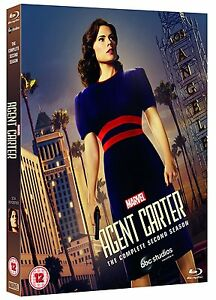 Marvel-del-agente-Carter-la-segunda-temporada-completa-Blu-ray-2-Set-Region-Libre