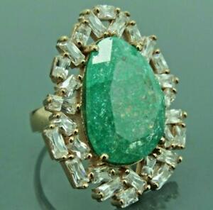 Turkish-Handmade-Jewelry-925-Sterling-Silver-Zircon-Stone-Women-Ring