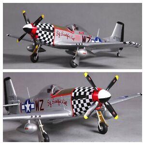 FMS-800MM-Warbird-P51-Avion-Radio-Control-Remoto-Control-avion-aeronave-PNP-Modelo-Adultos