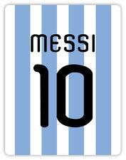 Messi Argentina Argentinien Argentine etichetta sticker 10cm x 13cm