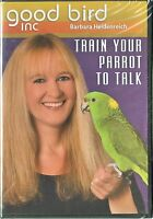Train Your Parrot To Talk - Barbara Heidenreich - Dvd & Cd Rom - Parrot Training