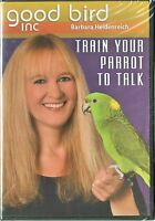 Train Your Parrot To Talk - Barbara Heidenreich - Dvd & Cd Rom - Parrot Training