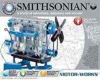 Smithsonian Motor-works Gas Engine Model Kit Skill Level Ii