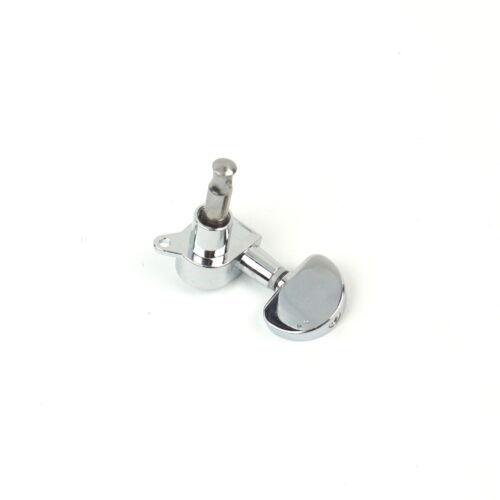 Chrome 3x3 Guitar Machine Heads Tuning Keys Tuners Head Pegs Mushroom-Shape