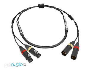 Standard 2 Channel Mogami 2930 Snake | Neutrik Gold XLR Red & White Rings | 25'