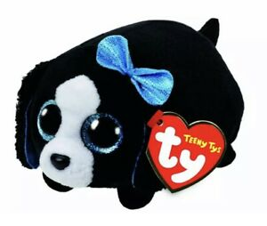 TEENY TYS  MARCI THE DOG STACKABLE BEANIES