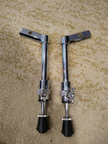 NOS Bass Drum Spurs fit Yamaha Recording Custom Pair of Left and Right