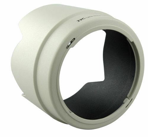 Pro CANON Lens Hood For CANON EF 70-200mm f//4L JJC ET-74 LH-74T White