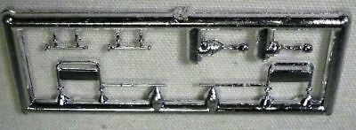 KW T-600 Chrome Mirror Set w//Air Horns Handles HO 1//87 Herpa//Promotex 5334-KW