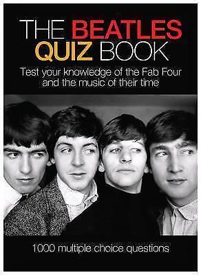 The Beatles Quiz Book, Acceptable, n/a, Book