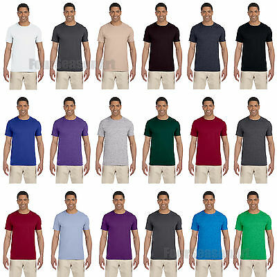 Gildan Mens Softstyle Short Sleeve T Shirt Cotton Tee S M L XL 2XL 3XL 64000
