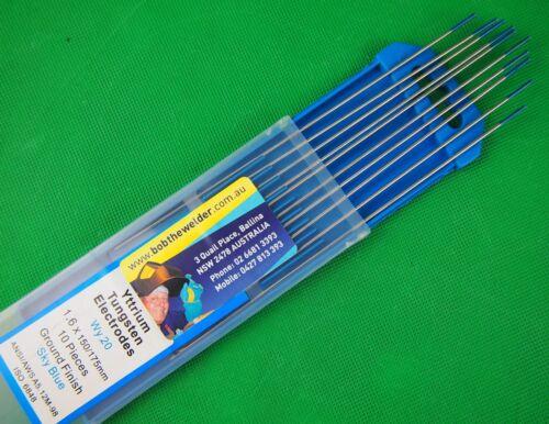1.6mm E3 Yttrium Tungsten Electrode Arc deeper Penetration AC//DC WY20 10Pcs