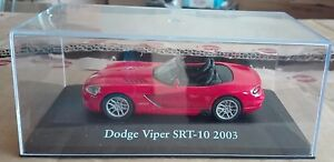 DIE-CAST-034-DODGE-VIPER-SRT-10-2003-034-SCALA-1-43-ATLAS-EDITION