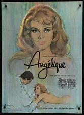 ANGELIQUE MARQUISE DES ANGES Danish movie poster 24x34 MICHELE MERCIER