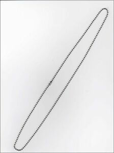 24-inch-Military-Ball-Bead-Dog-Tag-Chain-2-4mm-new-Free-Shipping