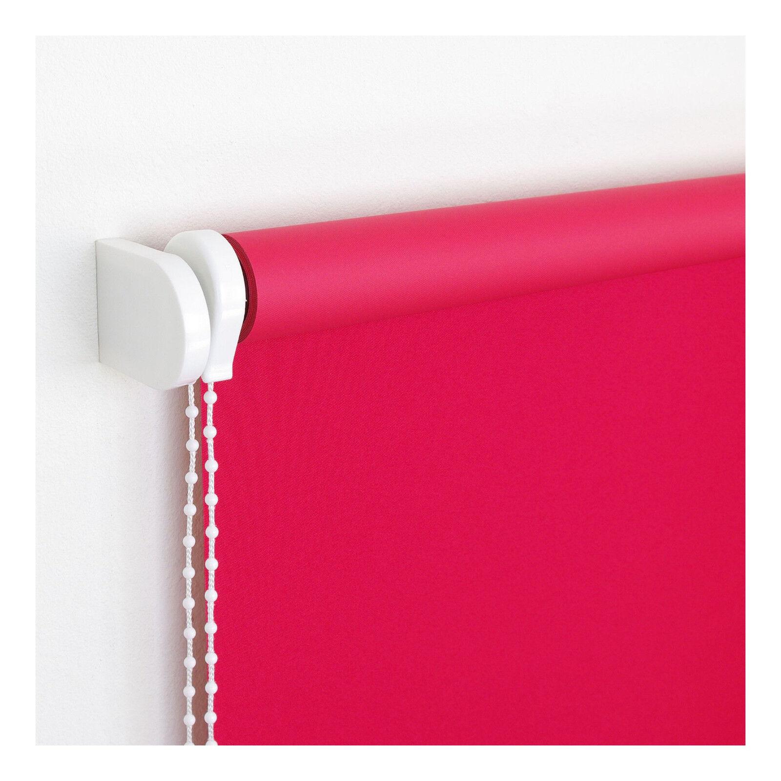 Verdunklungs-Kettenzugrollo Rot Seitenzugrollo Fensterrollo Sichtschutz   Lassen Sie unsere Produkte in die Welt gehen