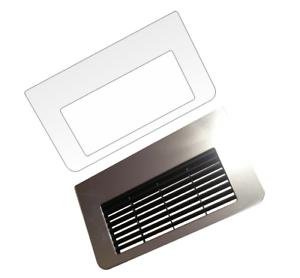 2-x-Schutzfolie-fuer-Jura-ENA-Micro-1-5-8-9-90-Tassenablage-Tropfblech
