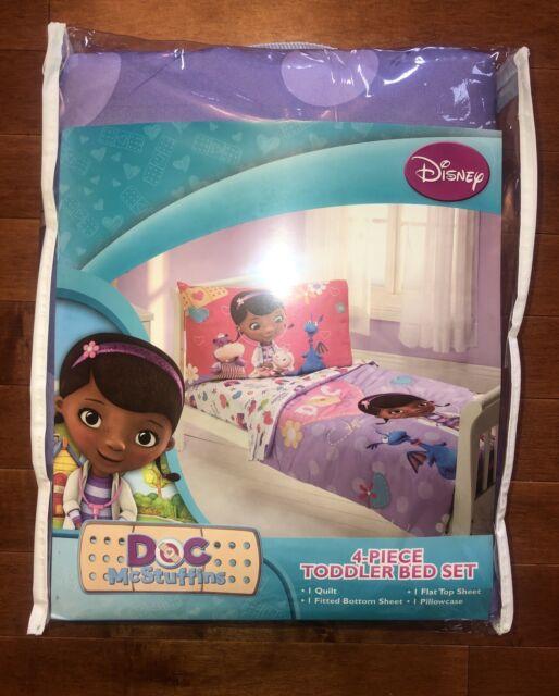 Disney Junior Doc Mcstuffins Toddler Girl Bedding Set 4 ...