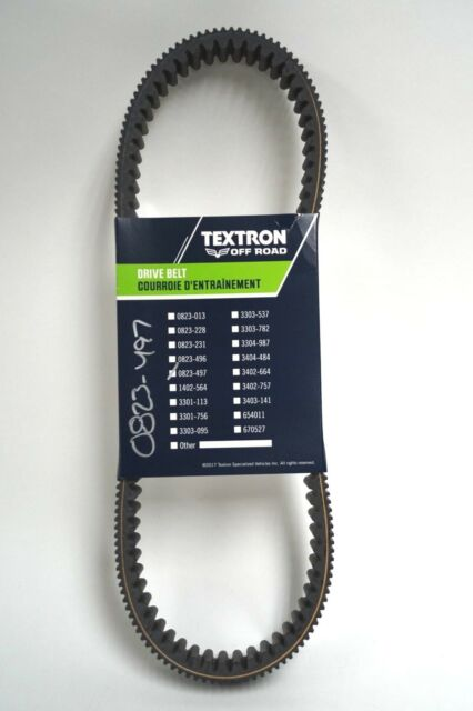 OEM Arctic Cat Textron 14-18 Wildcat Trail & Sport Drive Belt 0823-421 0823-497