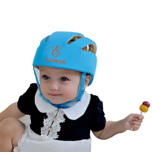 Adjustable Baby Toddler Safety Helmet Headguard Children Hats Harnesses Gift US