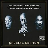 DEATH ROW RECORDS THE ULTIMATE  BEST OF THE WORKS (3 CDS) NEW TUPAC SNOOP DR DRE