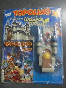 TOPOLINO-n-2657-2662-IL-CASTELLO-DI-WIZARDS-OF-MICKEY-6-ALBI-IN-BLISTER