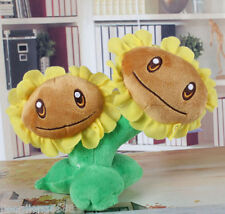 Twin sunflower Plants vs Zombies 2: It's About Time Soft Plush Toy Stuffed VGFDS
