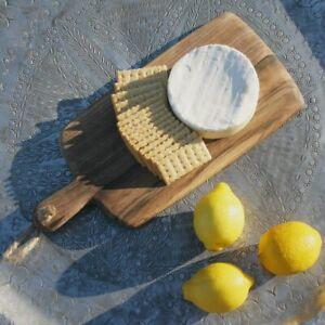Massive Artisan Cutting Board Platter  Cedar Walnut Cheese Serving Food Morocco