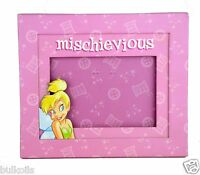 Disney Tinker Bell Tinkerbell Mischievious Picture Photo Frame 3.5 X 5 Tink