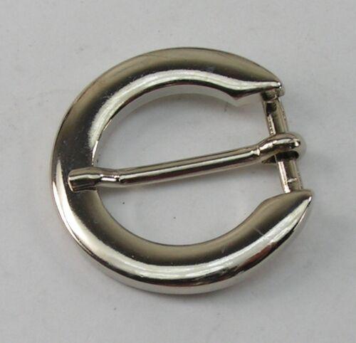 1 Schließe  Gürtelschnalle Schnalle  1,6 cm silber 05.54//250
