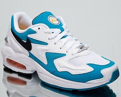Nike Air Max 2 Clair Dauphins Neuf Homme Vie Chaussures Blanc Bleu AO1741 100 | eBay